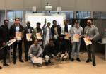 Kandidaten ontvangen mbo-diploma Assistent Logistiek