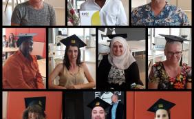 Diploma uitreiking opleiding medewerker Fastservice