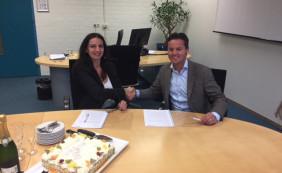 Ondertekening contract markeert start verbouwing