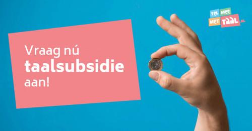 Verbeter het taal- en rekenniveau van je werknemers. Vraag nu subsidie aan!