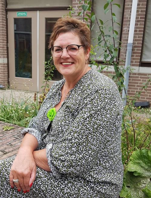 Jobcoach Leonore biedt ondersteuning op de werkvloer