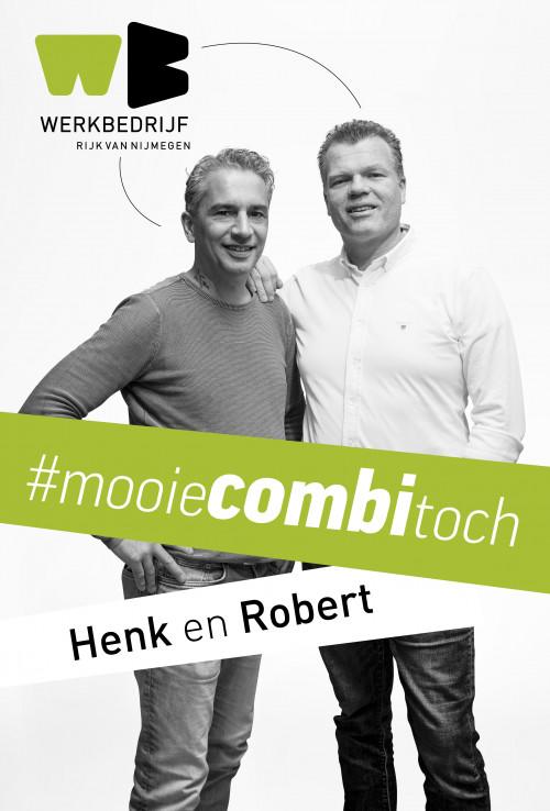 Mooie combi toch. Henk & Robert