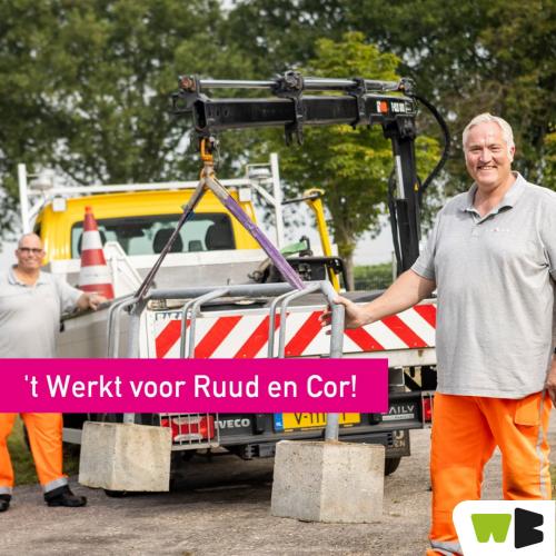 Vast contract bij gemeente Beuningen voor Cor en Ruud