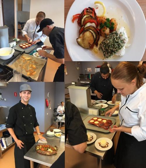 Talent in de keuken laat kookkunsten zien